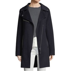 DEREK LAM 10 CROSBY wool coat